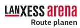 LANXESS arena - Route Planen Logo